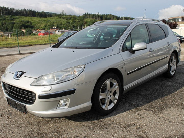 Peugeot 407 SW Active 2,0 HDI 136 (FAP) bei HWS || TCS Scharnagl in