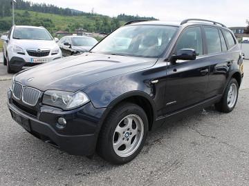BMW X3 2,0d Österreich-Paket bei HWS || TCS Scharnagl in