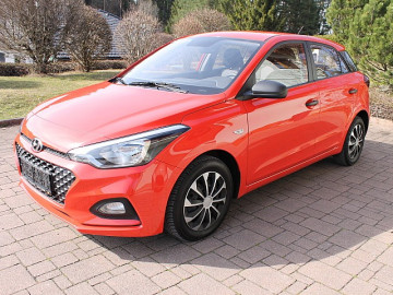 Hyundai i20 1,25 Level 1 bei HWS || TCS Scharnagl in