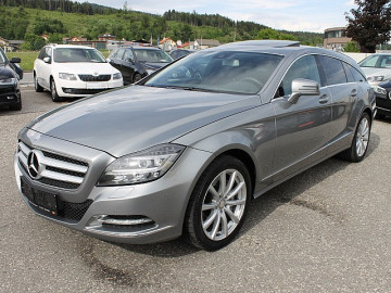 Mercedes-Benz CLS 350 CDI Shooting Brake BlueEfficiency 4MATIC Aut. DPF *LED*LEDER*KAMERA*GHSD*COMMAND… bei HWS || TCS Scharnagl in
